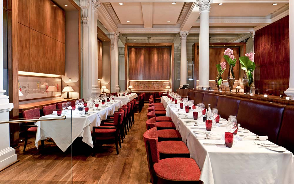 Bonds Restaurant Event at Threadneedle London