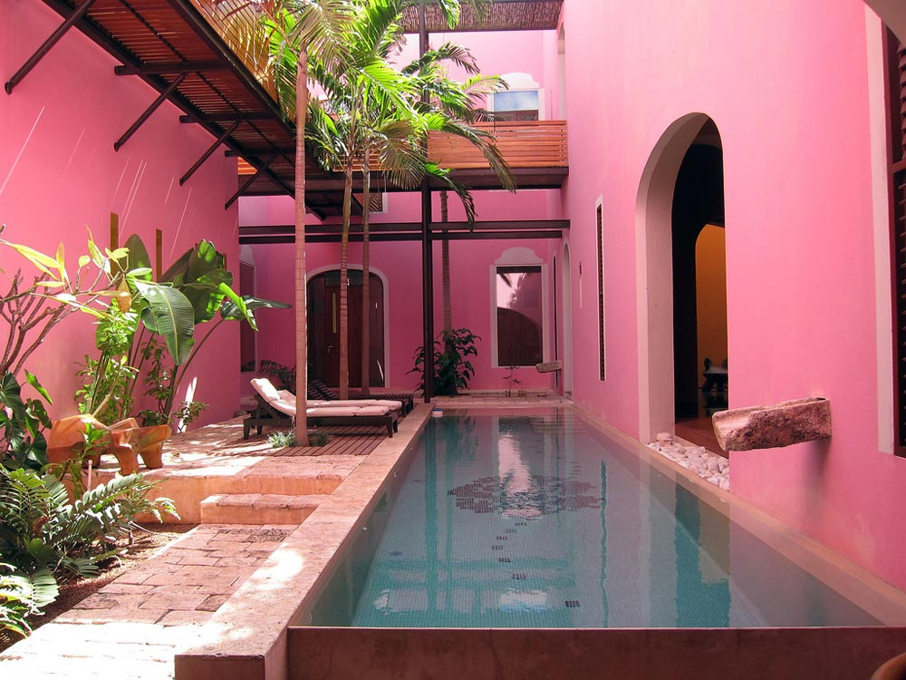 Pool at Rosas and Xocolate, Merida