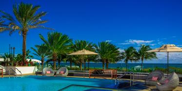 Upper Level Pool At The Eden Roc Miami Beach Hotel