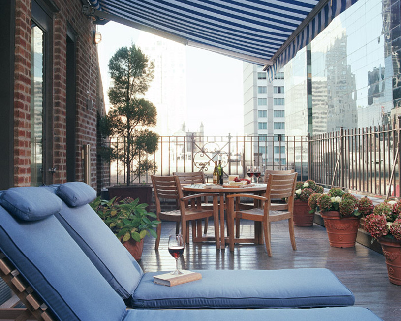 The Blakely New York Hotel Penthouse Terrace