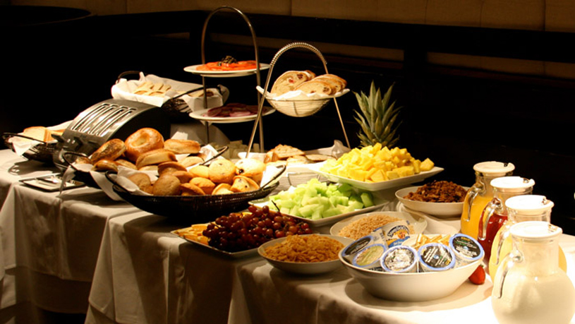 The Blakely New York Hotel Breakfast
