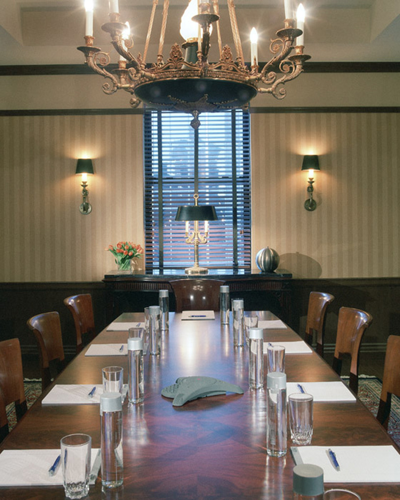 The Blakely New York Hotel Penthouse Boardroom