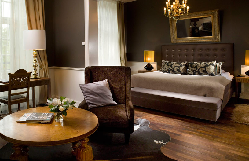 Junior Suite at the Grand Hotel Rica in Oslo