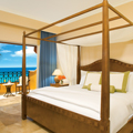 Deluxe Room with Ocean View or Tropical View at Secrets Capri Riviera Cancun in Playa Del Carmen, Mexico