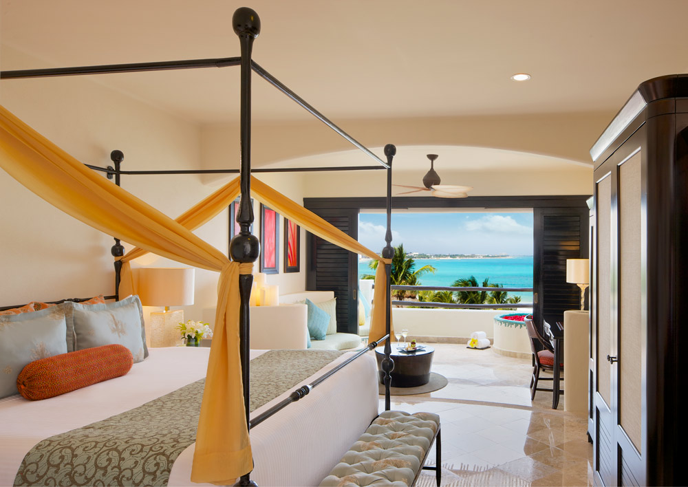 Junior Suite Oceanfront King Room at Secrets Maroma Beach Riviera Cancun in Playa Del Carmen, QR, Mexico