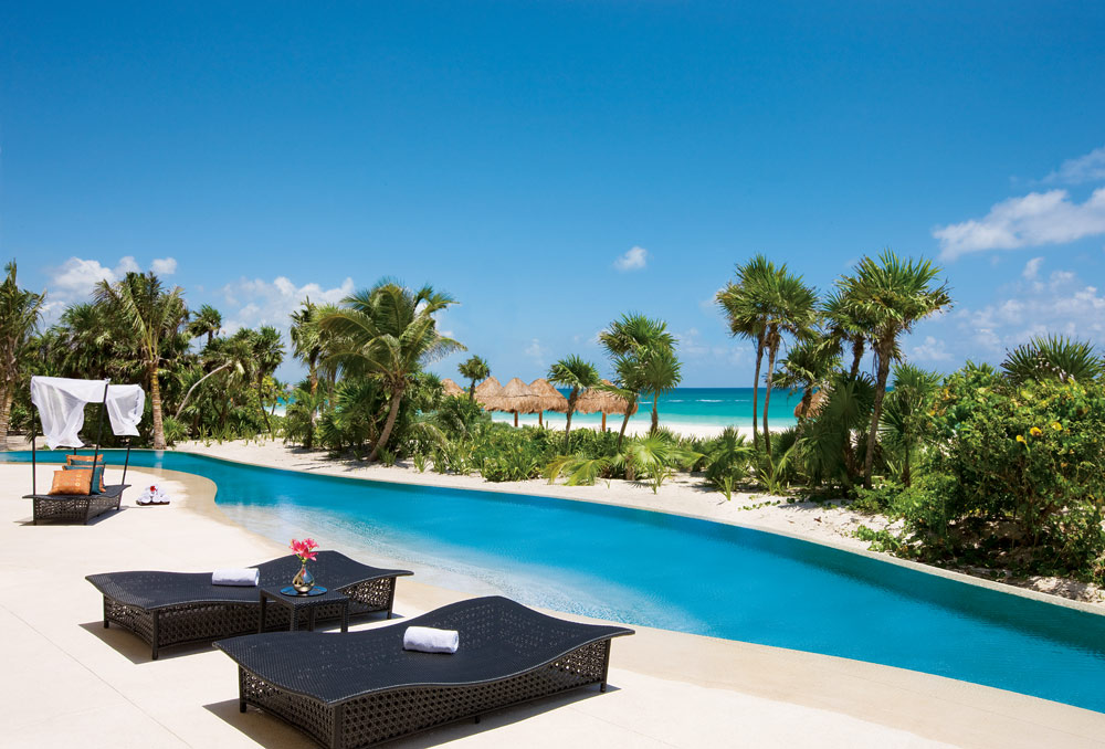 Presidential  Suite Swim-out Pool at Secrets Maroma Beach Riviera Cancun in Playa Del Carmen, QR, Mexicol