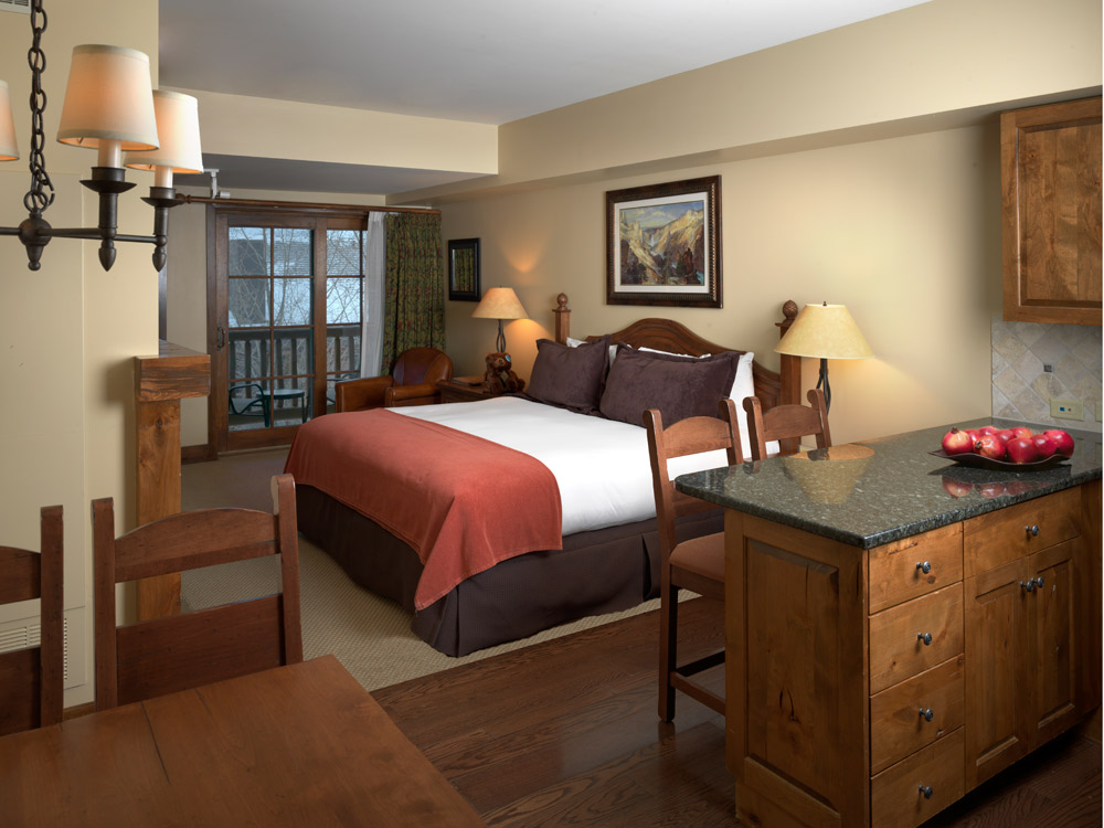 Sundance Junior Suite at Teton Mountain Lodge and Spa, Teton Village, WY, United States