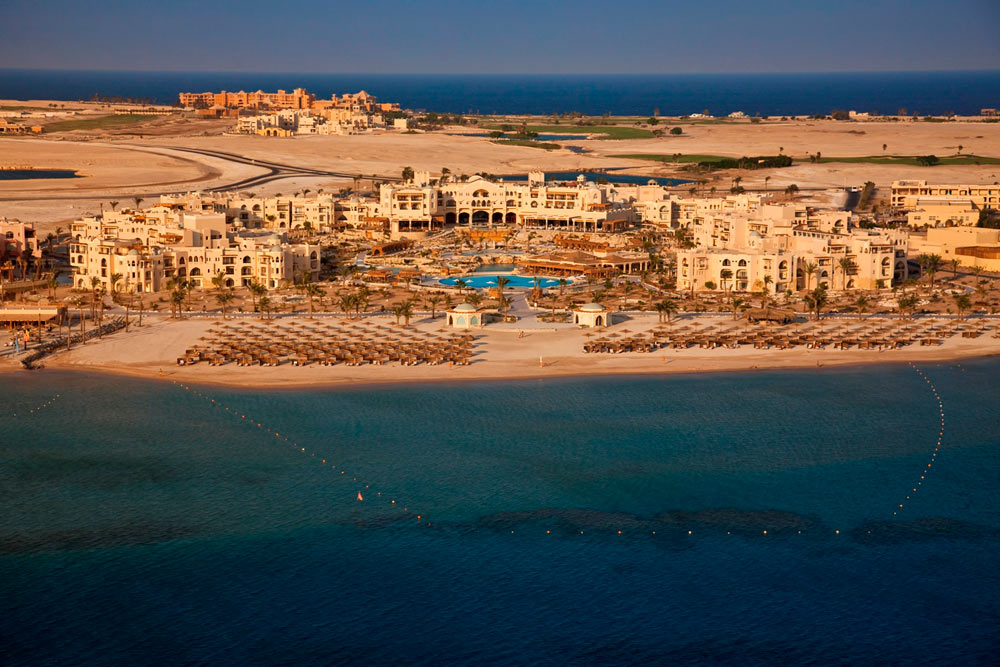 View of Kempinski Hotel Soma Bay, Hurghada, Red Sea, Egypt