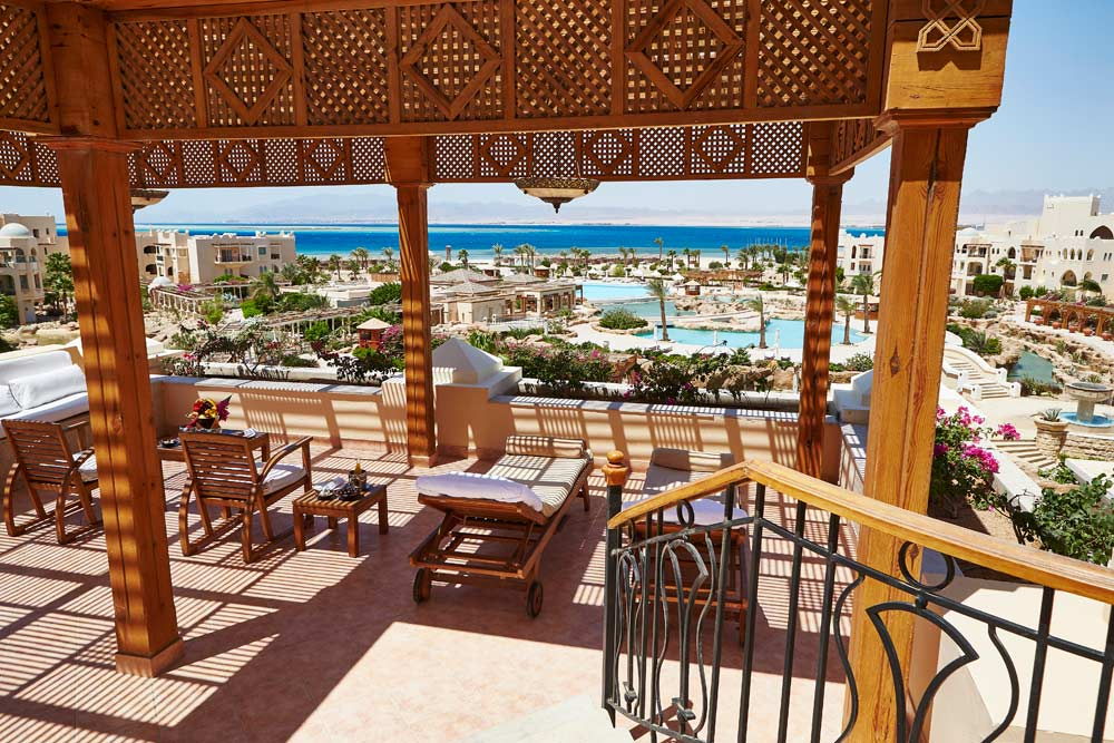 Presidential Suite Terrace at Kempinski Hotel Soma Bay, Hurghada, Red Sea, Egypt
