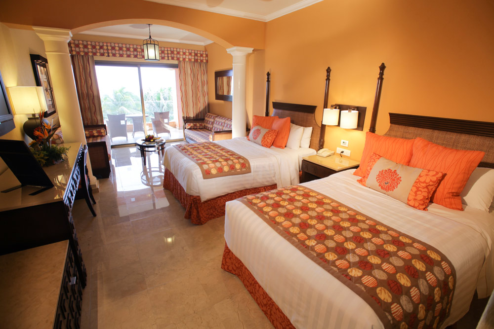 Double Guest Room at Barceló Maya Palace Deluxe