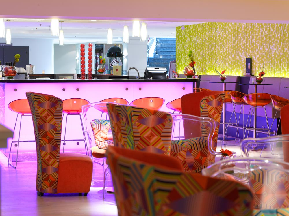Bar at Thon Hotel Brussels City Centre, Brussels, Belgium