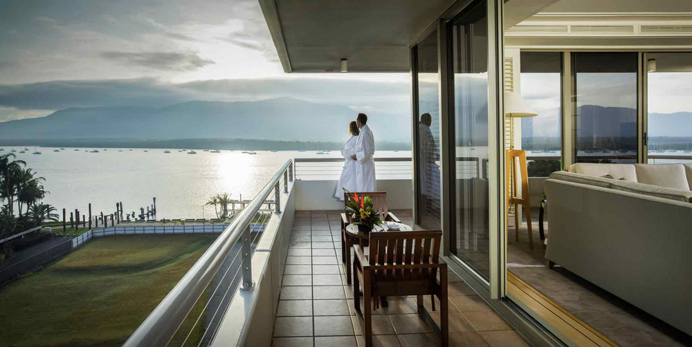 Suite Terrace at Pullman Reef Hotel Casino, Cairns