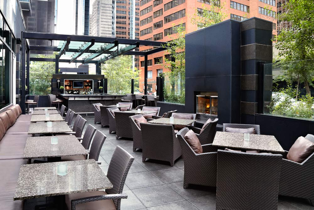 Terrace Dining at Westin Calgary, Canada
