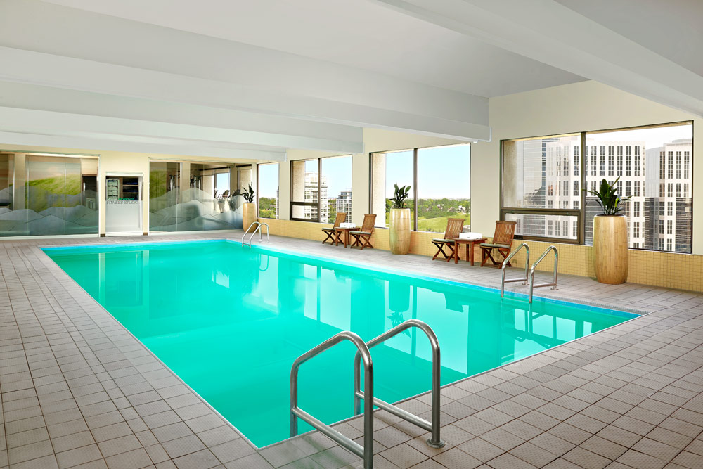Indoor Pool at Westin Calgary, Canada