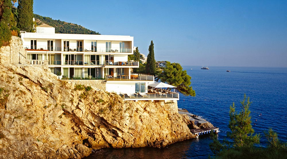 Rooms with a view at villa dubrovnik five star alliance for Boutique hotel intermezzo 4 pag croatie