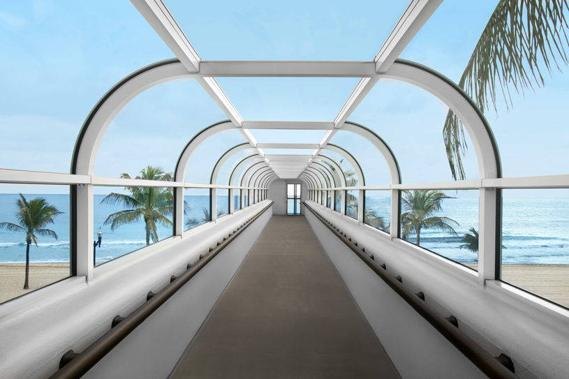 The Westin Beach Resort & Spa Fort Lauderdale Walkway to the Beach