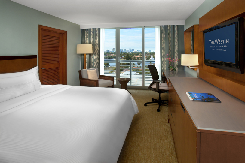 The Westin Beach Resort & Spa Fort Lauderdale Intercoastal City View Room