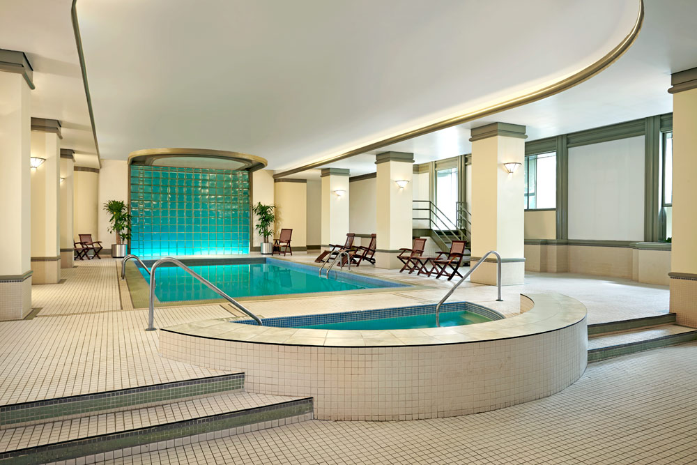 Pool and Spa at The Westin Nova Scotian, Halifax, Canada