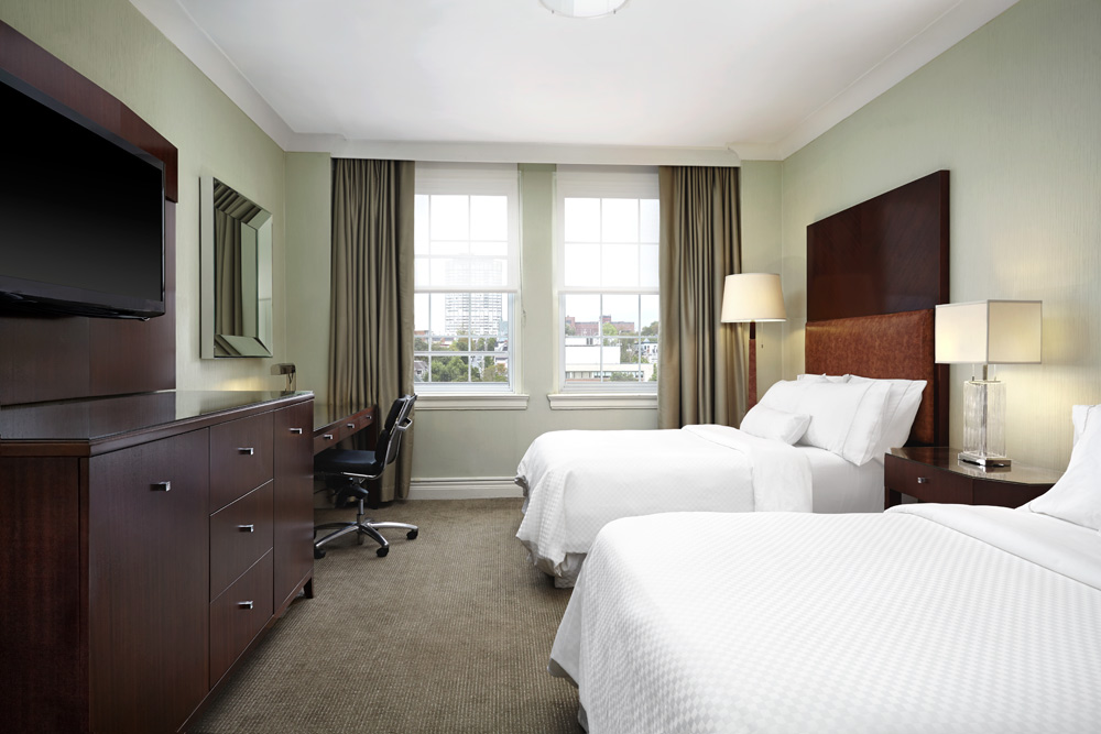 Double Guest Room at The Westin Nova Scotian, Halifax, Canada
