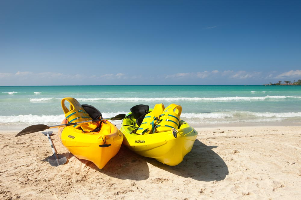 Kayak Adventure at Couples Negril All Inclusive