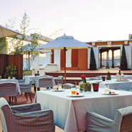Terrace Dining at Hesperia Finisterre, Spain