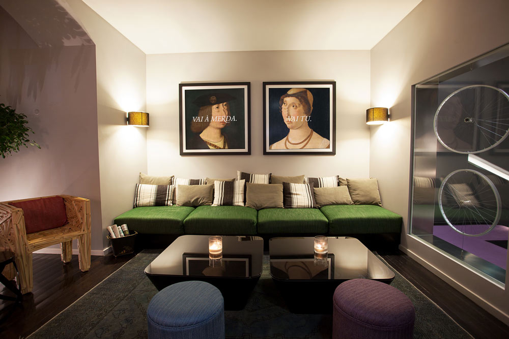 Living Room at Internacional Design Hotel