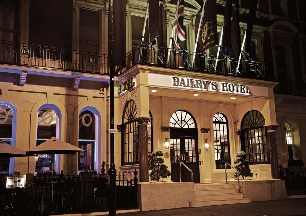 Exterior of Millennium Bailey's London Hotel