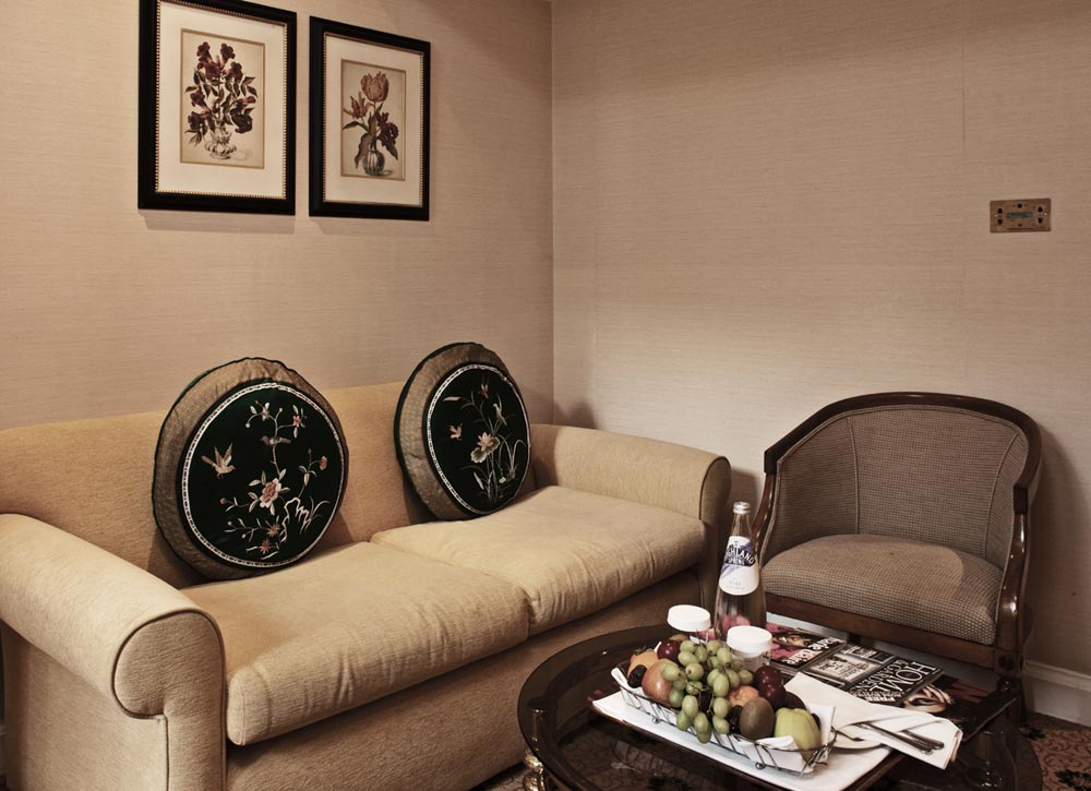 Luxury Suite Lounge Area at The Millennium Mayfair Hotel