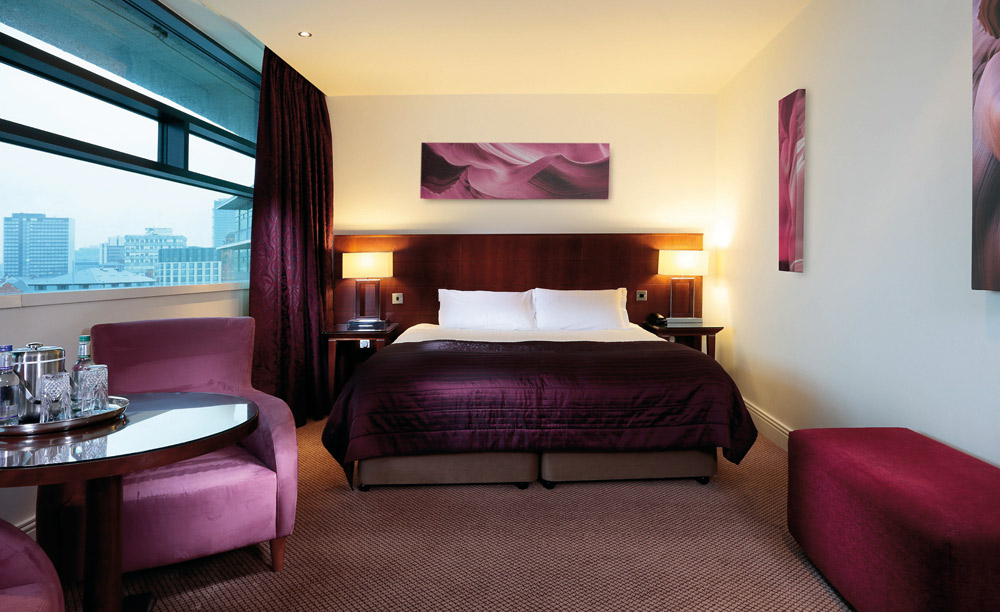 Classic Double Guestroom at Macdonald Manchester Hotel, UK