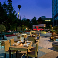 Amici Terrace at Sheraton Maria Isabel Hotel Towers, Mexico City, Mexico