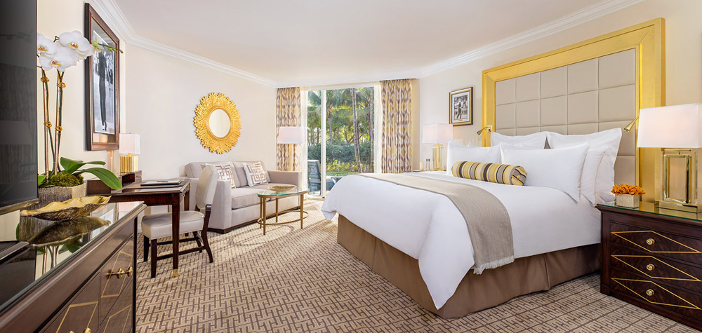 King Bedroom at Trump International Doral, Miami, FL