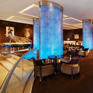 Bar and Lounge at Sheraton Palace Hotel, Moscow, Russia