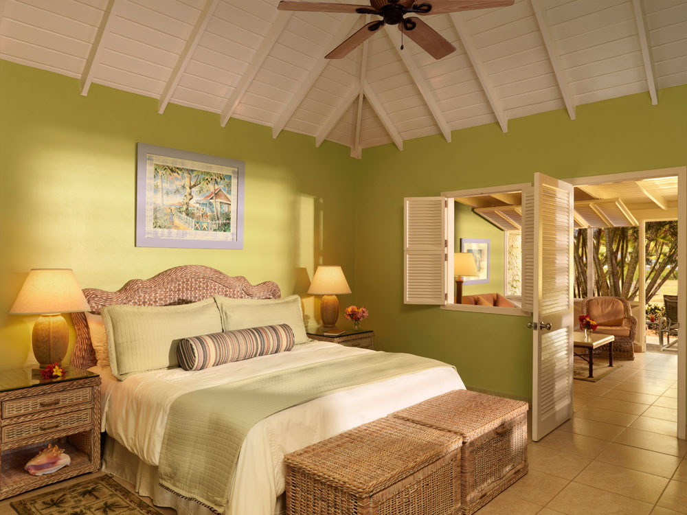 Deluxe Garden Suite at Nisbet Plantation Beach Club Nevis, Saint Kitts and Nevis