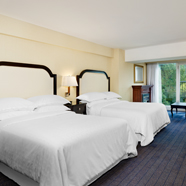 Double Guestroom at Sheraton On the Falls Hotel, Niagara Falls, ON, Canada