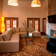 Villa Living Room at The Villas of Grand Cypress, FL