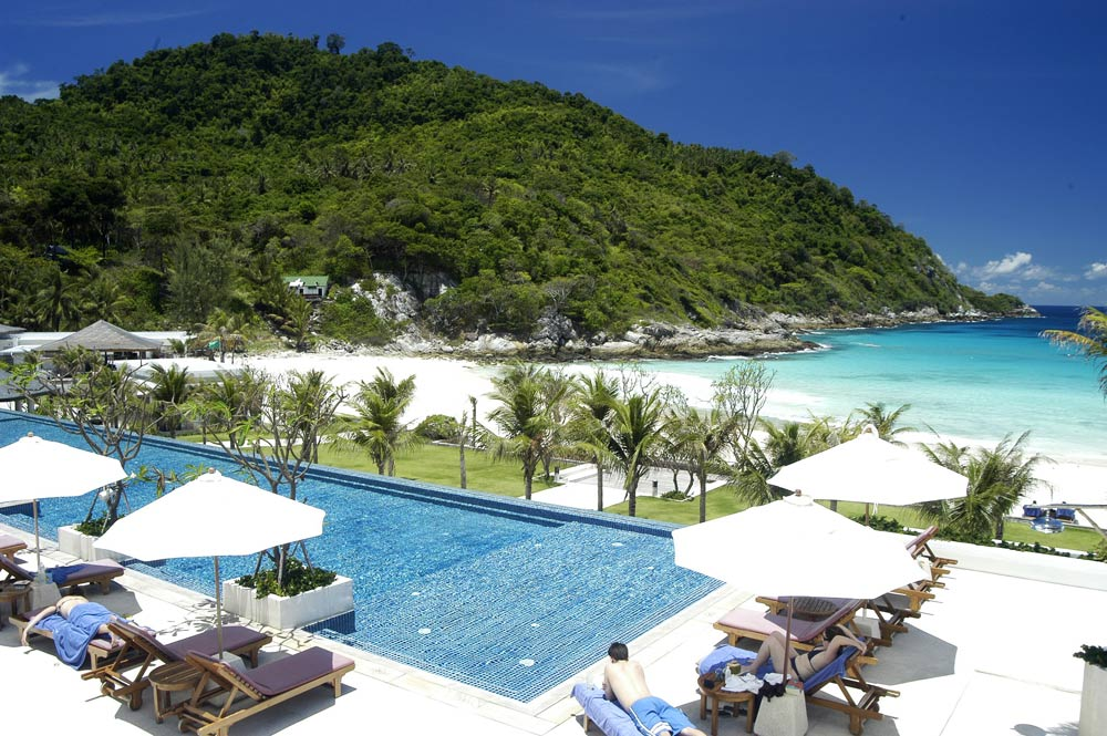 Main Pool at The Racha Phuket, Thailand