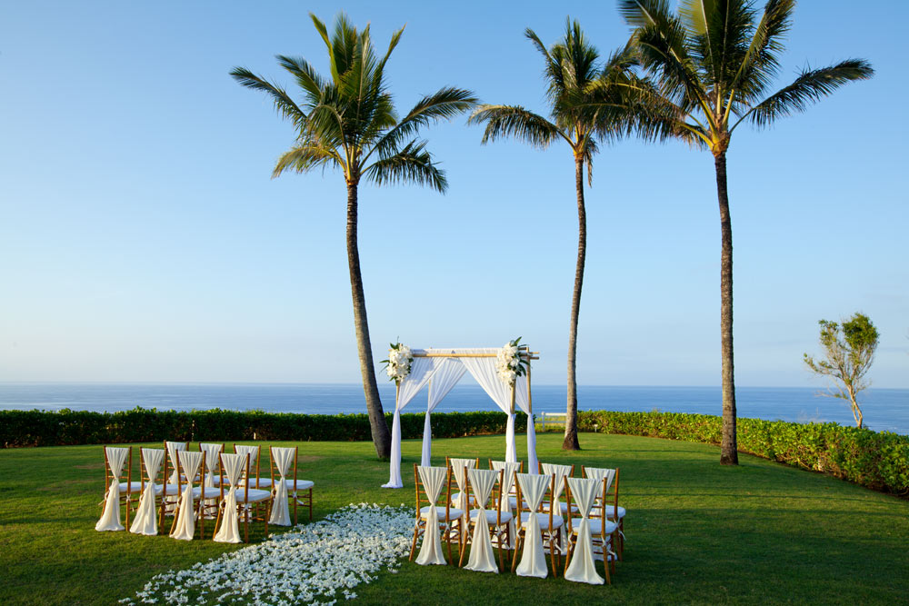 Weddings at The Westin Princeville Ocean Resort Villas, HI