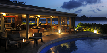 Taino by Piter dining venue at Hotel Le Christopher, Saint-Barthélemy