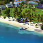 Aerial View of Calabash Hotel and Villas Saint Georges, Grenada