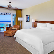 Ocean View Guest Room at Westin Dawn Beach Resort