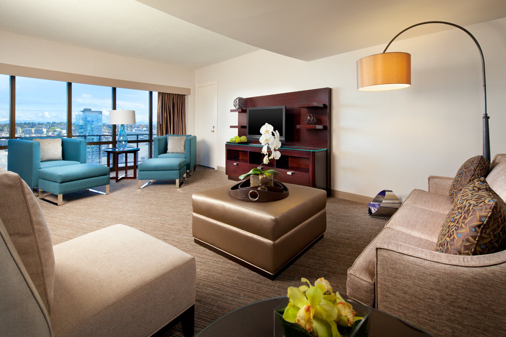 Suite Lounge at Westin Seattle, WA