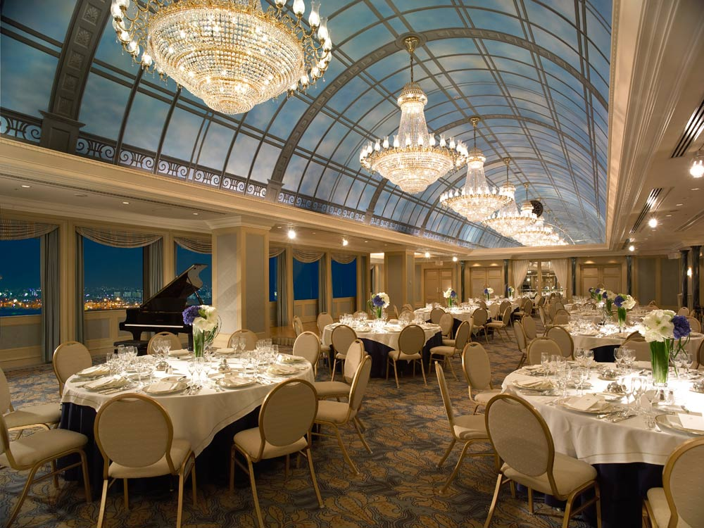 Dining Room at Grand Pacific Le Daiba, Japan