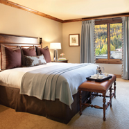 Master King Guest Room at The Sebastian Vail, CO
