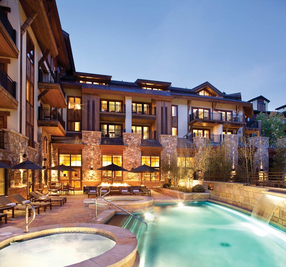 Pool and Spa at The Sebastian Vail, CO