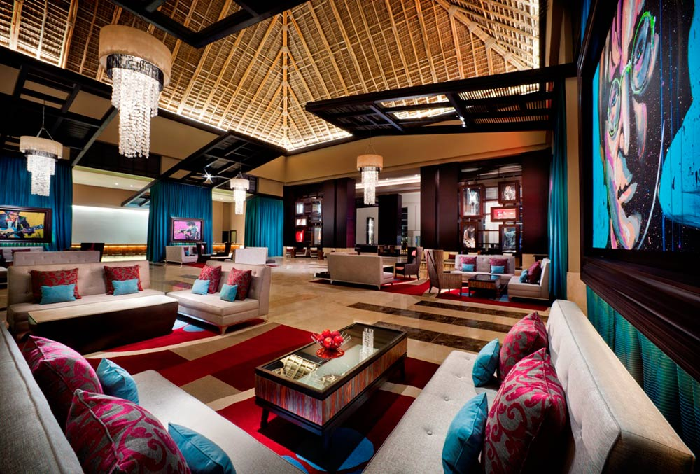 Lobby at Hard Rock Hotel and Casino Punta Cana