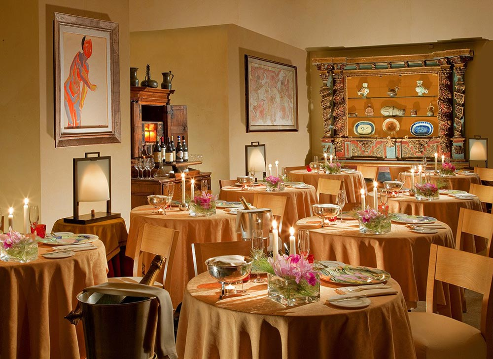 Dining at Hotel Raphael Rome, Rome, Italy