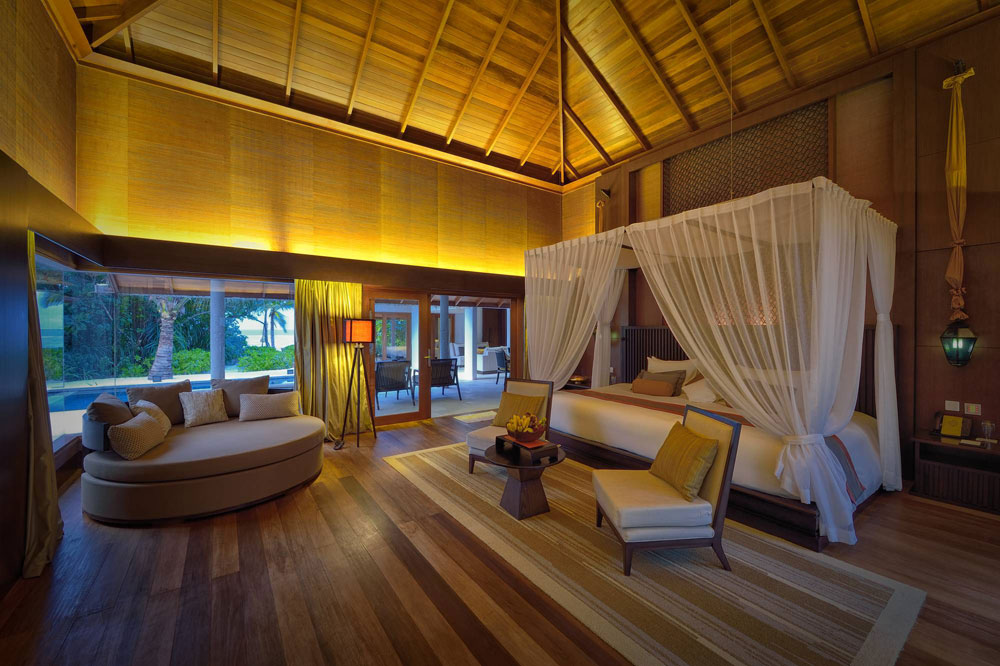 Two Bedroom Beach Sanctuary at Jumeirah Dhevanafushi Gaafu Alifu Atoll, Maldives