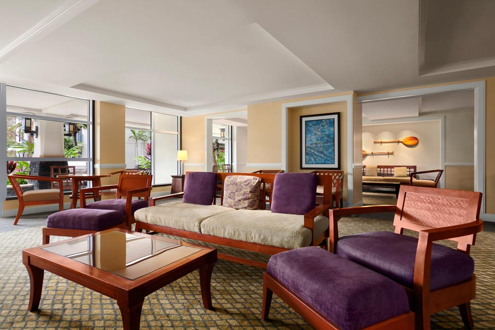 The Westin Ka'Anapali Ocean Resort Villas, Lobby and Lounge Area.