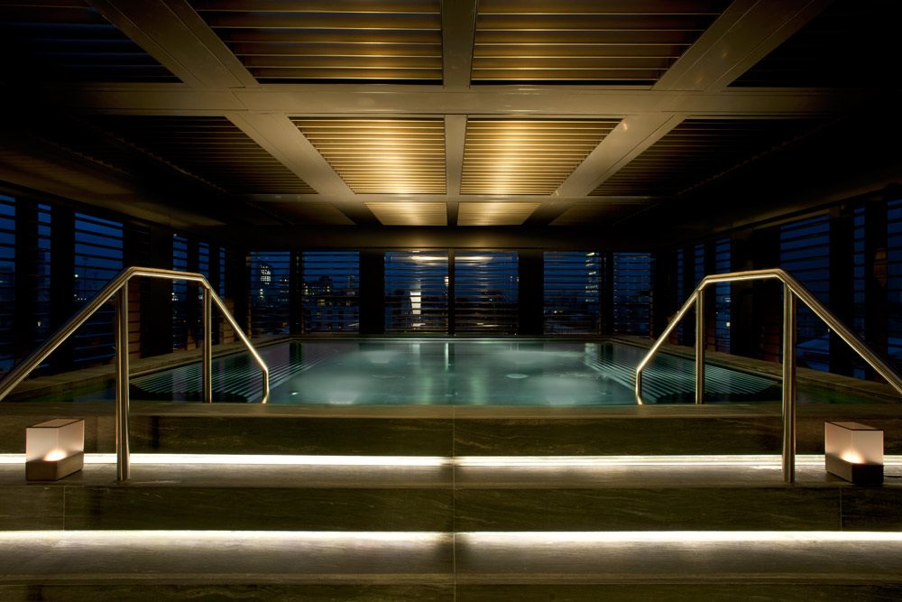 Relaxation Pool Armani Hotel Milan