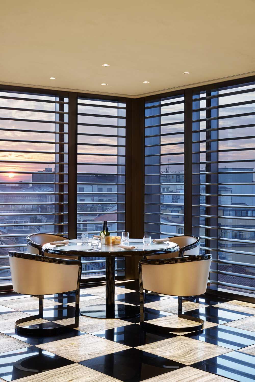 The Lounge at the Armani Hotel Milano